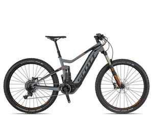 Scott E-Genius 920 2018 | 44 cm | grey/black/orange