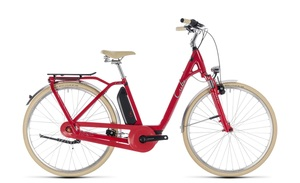 Cube Elly Cruise Hybrid 500 Wave 2018 | 54 cm | red´n´mint