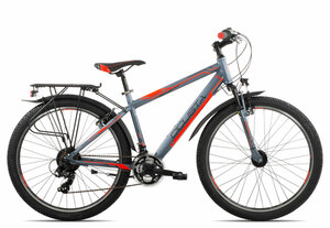Ciclista Adventure 26 Herren 2019 | 38 cm | grey black red