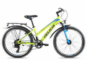 Ciclista Adventure 24 Girl 2019 | 34 cm | lime black blue