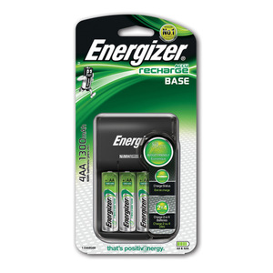 Energizer Ladegerät Base Charger +4AA 1300mAh 1er