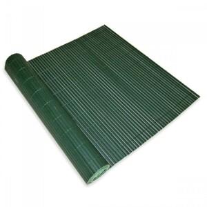 Sichtschutz Matte Balkon 90 x 500 cm PVC grün
