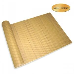 Sichtschutz Matte Balkon 90 x 300 cm PVC Bambus Optik