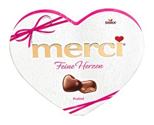 STORCK® merci®  Feine Herzen