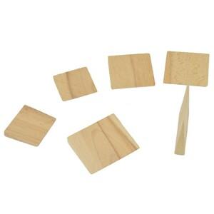 Holzkeil Sortiment 6Stück Axtstiel Beilstiel