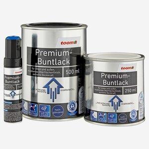 toomEigenmarken -              toom Premium-Buntlack hochglänzend tiefschwarz 500 ml