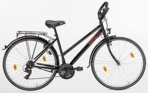Vortex Trekkingrad ,Travel 100, Damen Stahlrad 28Er, 18 Gang TY300 Schaltwerk