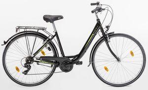 Vortex Citybike, City 100 Damen Stahl Mixterad 28er, 6 Gang TY 300 Schaltwerk