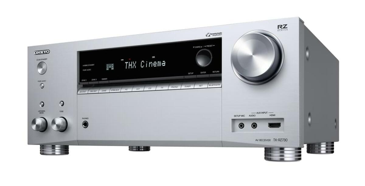 Bild 2 von ONKYO TX-RZ730 9.2 Kanal AV Receiver 175 Watt pro Kanal, THX, Dolby Atmos
