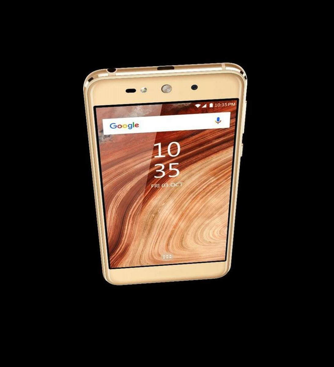 Bild 2 von Blaupunkt SL02 Smartphone in Gold