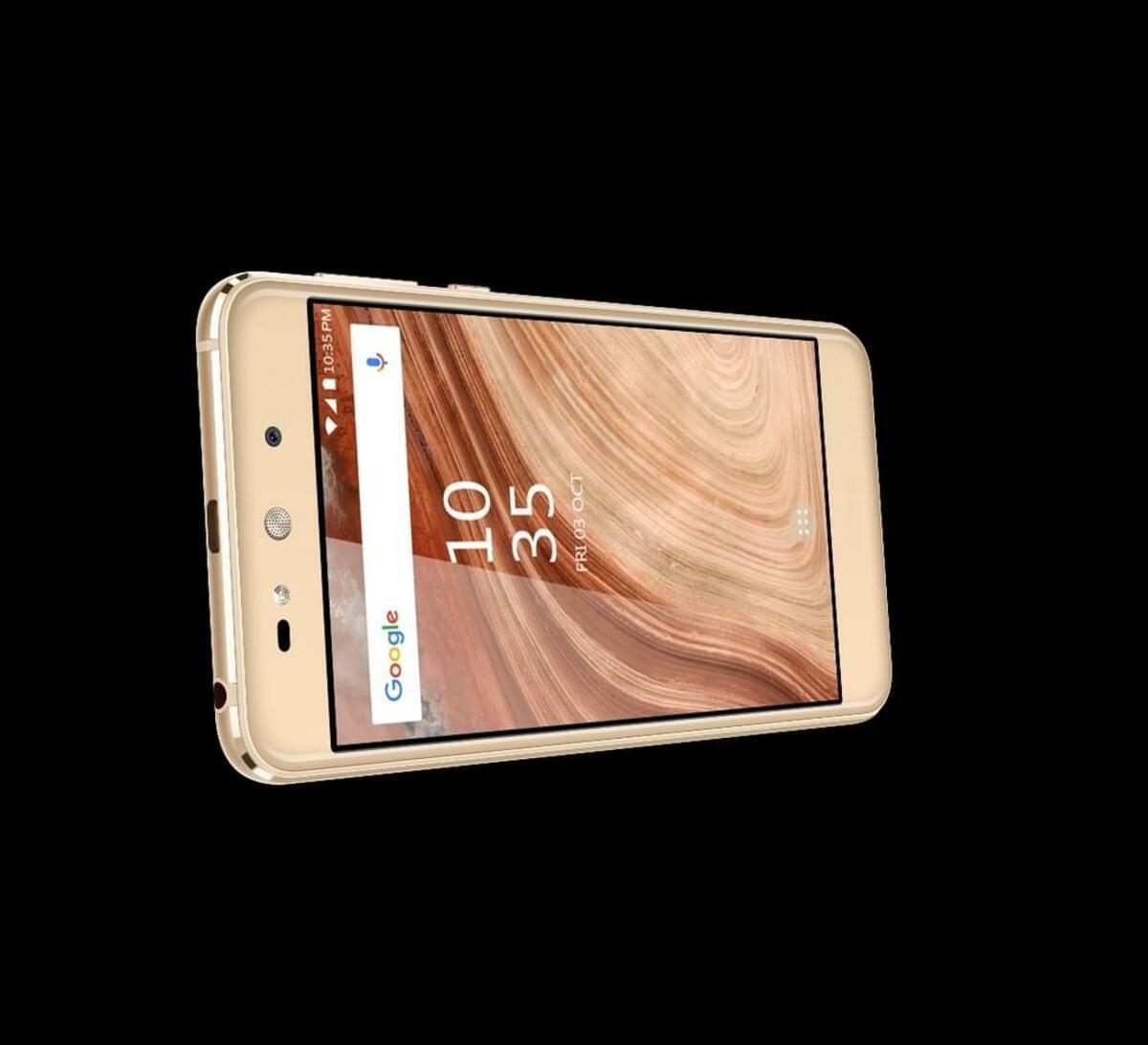 Bild 3 von Blaupunkt SL02 Smartphone in Gold