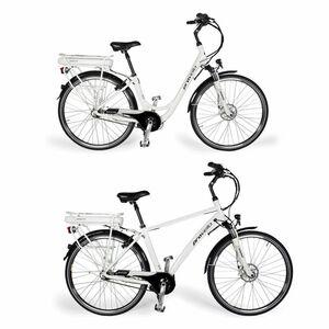 E-Bike Elektrofahrrad Damen Herren 28 Zoll 7 Gang Shimano 36V Samsung by Provelo, Größe:Herren
