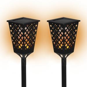 Maxxworld PRIMA GARDEN LED Solar-Fackelleuchten Fackeleffekt 6 bis 8 Stunden Leuchtdauer