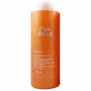 Wella Shampoo Enrich 1000 ml für normales dünnes Haar