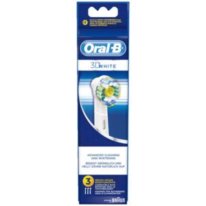 Oral-B Power Aufsteckbürsten EB-18 3D White 3 Stück