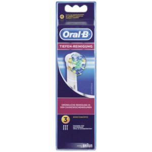 Oral-B Aufsteckbürsten Tiefenreinigung 3 Stück