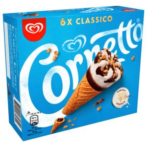 Cornetto Classico Familienpackung 6x90 ml