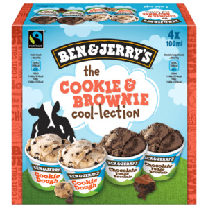 Ben & Jerry's the Cookie & Brownie cool-lection 400ml