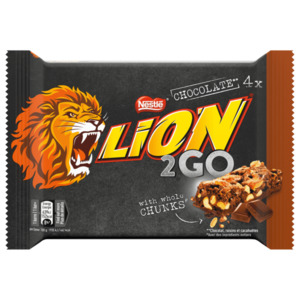 Lion 2Go Chocolate 132g