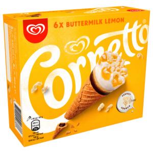Cornetto Buttermilk Lemon Familienpackung 6x90 ml