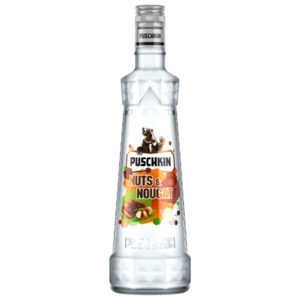 Puschkin Vodka 37,5% Vol. oder Nuts & Nougat