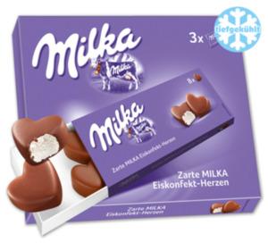 MONDELEZ Milka Eiskonfektherzen