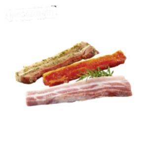 Deutsche frische Grillbauch-Scheiben