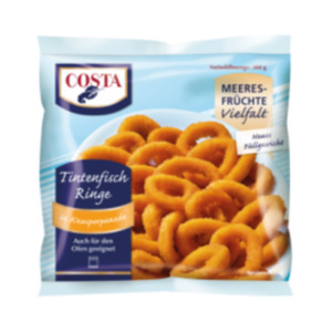 Costa Frutti di Mare, Tintenfischringe in Knusperpanade oder Muschelfleisch