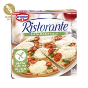 Pizza Ristorante Mozzarella oder Salame glutenfrei
