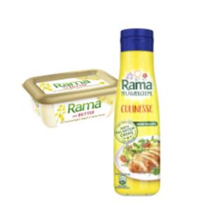 Rama Culinesse Pflanzencreme oder Rama mit Butter