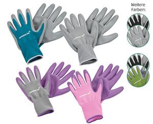 GARDENLINE®  Gartenhandschuhe Sensitive Touch, 2 Paar