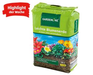GARDENLINE®  Leichte Blumenerde, 40 l