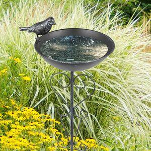 Gartenstecker Vogeltränke 83cm