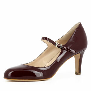 Evita Damen Pumps BIANCA, bordeaux, 34