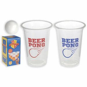 Bierpong-Trinkspiel - 14-teilig
