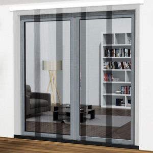 Powertec XXL Schiebe-Lamellen-Vorhang VARIO, ca. 240 x 240 cm