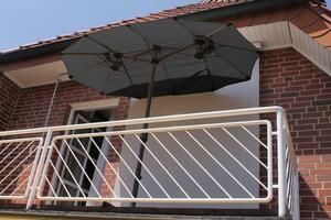LECO - Balkon-Ovalschirm anthrazit
