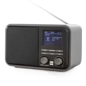 Dual DAB+/ UKW-Radio DAB51 mit Bluetooth und Akku