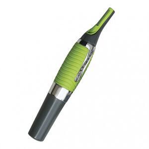 Haartrimmer Micro Touch 1,5V grau/grün mit LED Licht