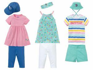 LUPILU® Kleinkinder Mädchen Sommerset, 3-teilig