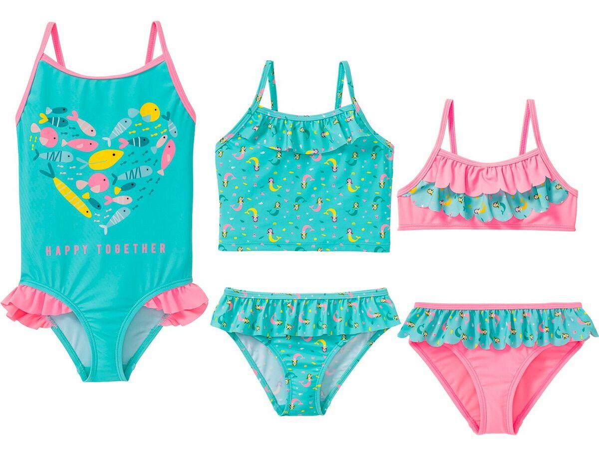 Bild 1 von LUPILU® Kleinkinder Mädchen Tankini/Bikini/Badeanzug