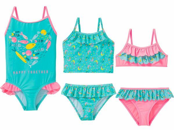 LUPILU® Kleinkinder Mädchen Tankini/Bikini/Badeanzug