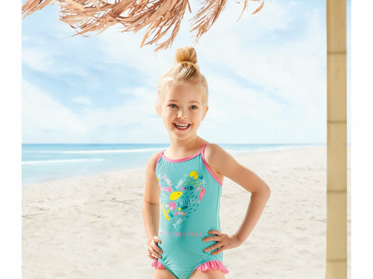 Bild 3 von LUPILU® Kleinkinder Mädchen Tankini/Bikini/Badeanzug