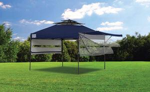 ShelterLogic Faltpavillon Quick Shade blau inklusive Windauslass 305x305 cm