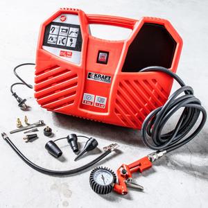 Kraft Werkzeuge Koffer-Kompressor 1100 Watt