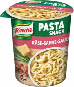 Knorr Snack Becher Spaghetti Käse-Sahne-Sauce 71 g