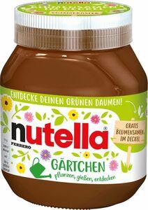 Nutella Sonderedition Gärtchen 750g