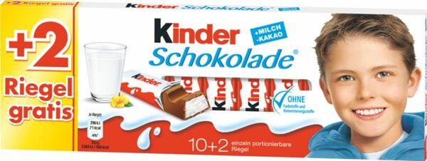 Kinder Schokolade 10+2 150g
