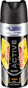 Pure & Basic Men Active Power, 200ml