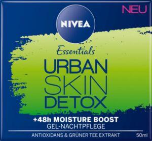 Nivea Urban skin detox gel Nachtpflege, 50ml